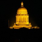 Kentucky Capitol Building at night